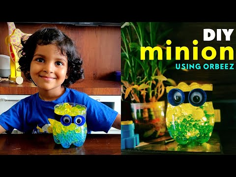 DIY Minion using Plastic Bottle and Orbeez
