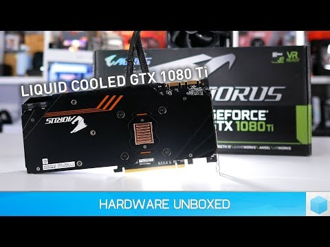 Gigabyte Aorus GTX 1080 Ti Waterforce Xtreme Edition, New Fav Graphics Card