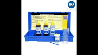 Testing for Free & Combined Chlorine (or Total Bromine) Using Taylor's K-1515-C with FAS-DPD