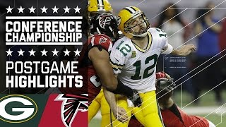 Packers vs. Falcons   NFC Championship Game Highlights