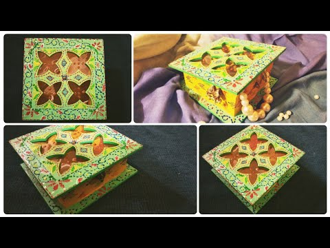DIY Jewelry Box Inspired by Kantha Work