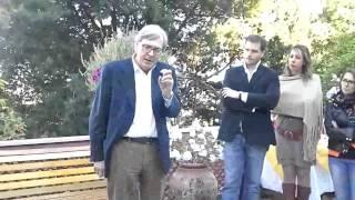 preview picture of video 'SALEMI, SGARBI: NINO SCIMEMI ? BUONA PERSONA, MA NON E' IL MIO TIPO'