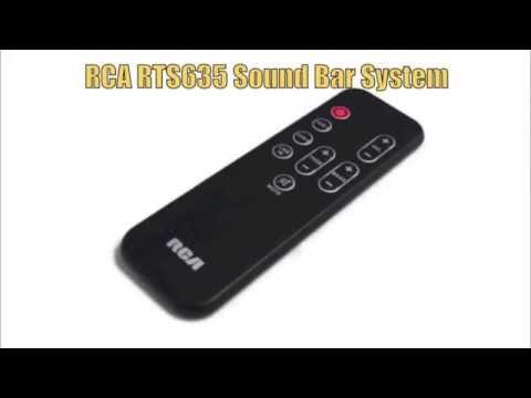 RCA RTS635 Sound Bar System Remote Control