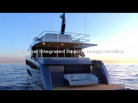 Jetten Beach 55 IPS Flybridge video