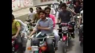 preview picture of video 'Group 420 Rally in sadiqabad (2).mp4'