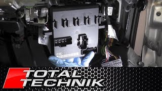 How to Remove Body Control Module (BCM) ECU - Audi A4 S4 - B6 B7 - 2001-2008