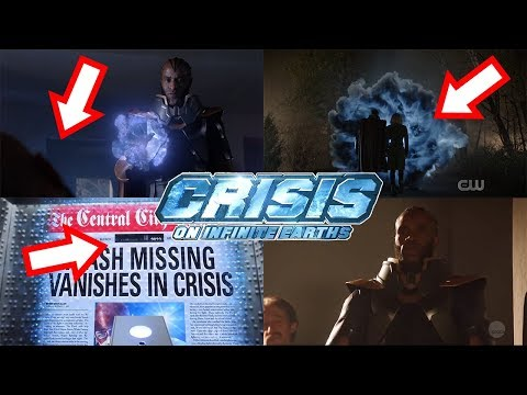 ALL Crisis on Infinite Earths Teasers Explained! What Do They ALL Mean?