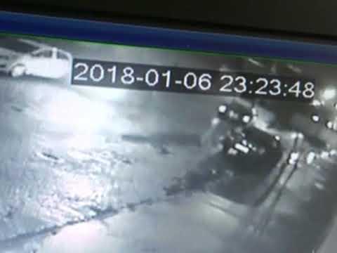 Vídeo mostra momento em que morador de rua morto em acidente é atropelado