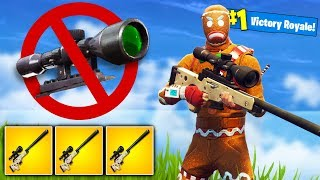 *NO SCOPE* KILLS ONLY Challenge In Fortnite Battle Royale