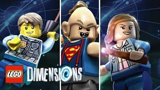 LEGO Dimensions: Wave 8 - Red Bricks And Character Showcases