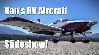 RV Aircraft Video - Van's RV Aircraft Slideshow! Part 1