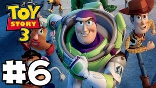 Toy Story 3 The Video-Game - Toy Box Mode - Episode 6 (HD Gameplay Walkthrough)