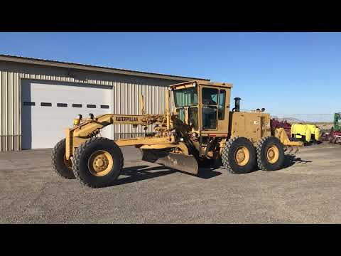 Cat 130G Motor Grader | HiBid Auctions