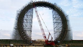 The Megaproject of Dubai. The Largest Ferris Wheel in the world