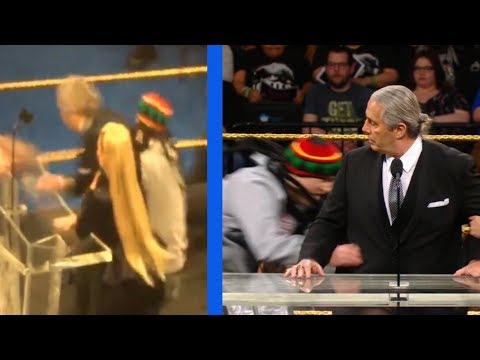 BRET HART ATTACKED AT WWE HALL OF FAME 2019!