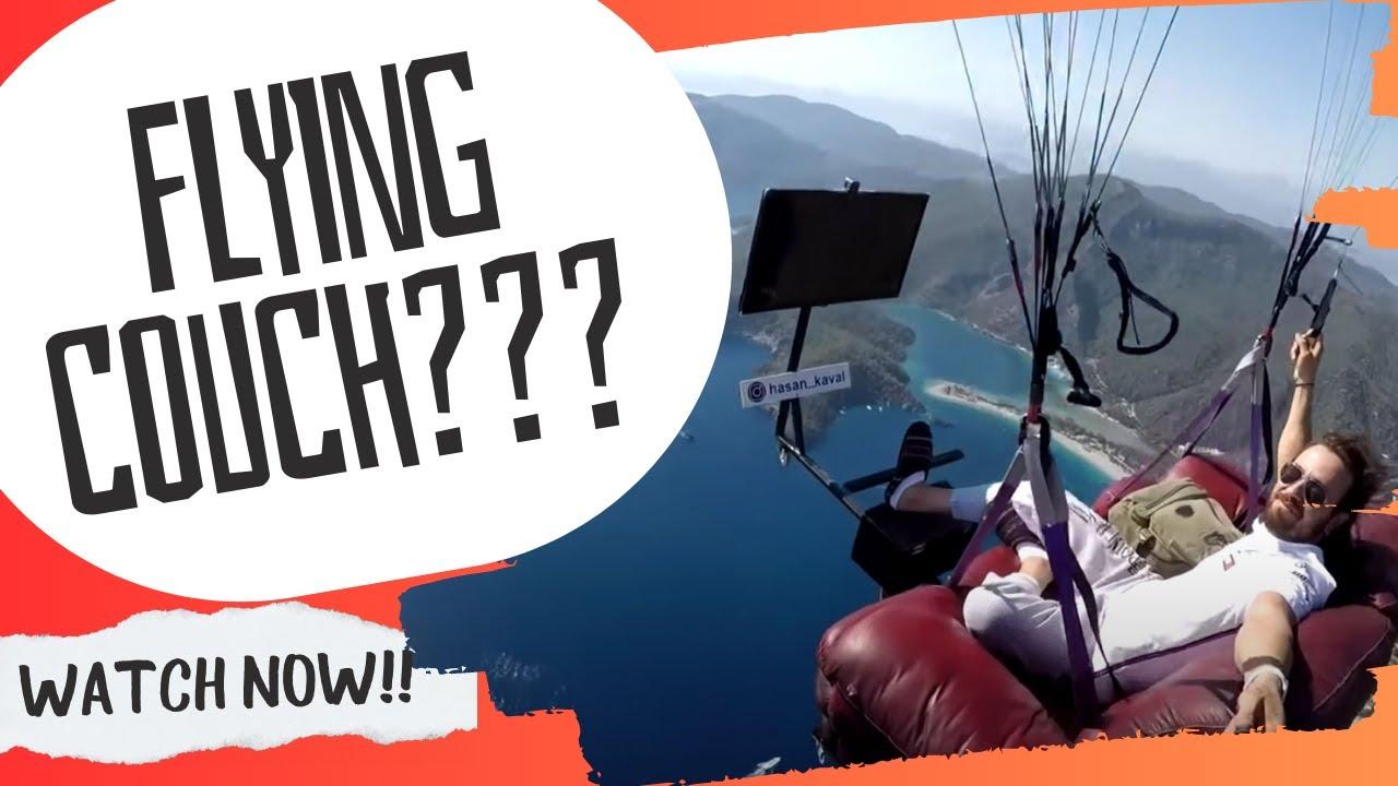 Uçan koltuk Coach Potato Paragliding