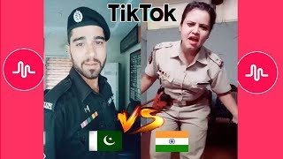 Latest Popular India Vs Pakistan Funny Dialogues Police TikTok Musically Compilation