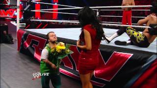The Great Khali vs. Epico & Primo - Handicap Match: Raw, Nov. 19, 2012