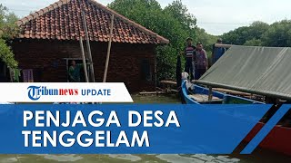 Satu Keluarga Hidup di Desa Tenggelam, Ngaku Dapat Wangsit agar Tak Pindah dari Rumahnya