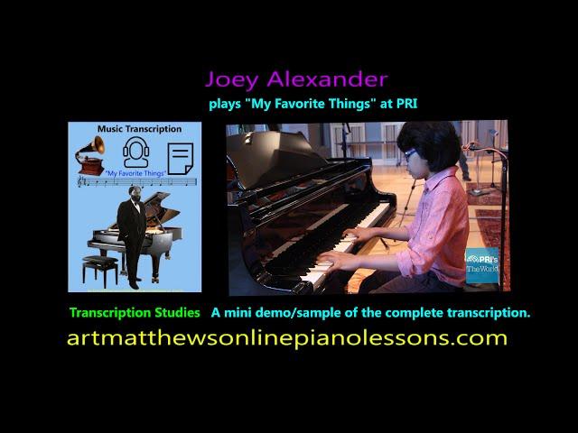 Joey Alexander plays