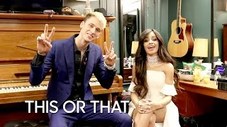 Download Video Would You Rather: Machine Gun Kelly And Camila Cabello