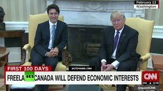 Вот это поворот: у США разногласия с Мексикой и Китаем, но Дональд Трамп критикует Канаду
