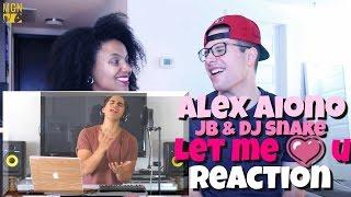 Alex Aiono covers 'Let Me Love You' (DJ Snake & Justin Bieber) Reaction