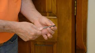 How to fix a Squeaky Door