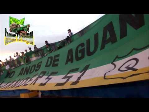 """""""SOMOS LA REGION ARTILLERIA VERDE SUR 30/10/2014"""" Barra: Artillería Verde Sur • Club: Deportes Quindío"""