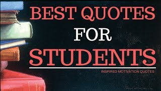 Motivational Quotes For Students To Study Hard - Inspirational Quotes For Students Success