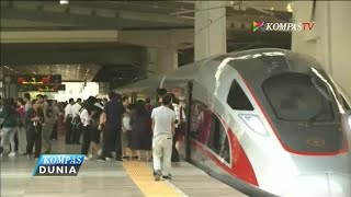 China Resmikan Kereta Tercepat di Dunia, 350 Kilometer per Jam