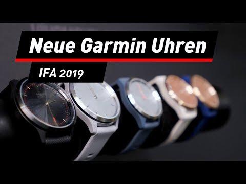 IFA 2019: Neue Uhren von Garmin