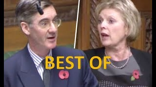 BEST OF Jacob Rees-Mogg DESTROYING Anna Soubry