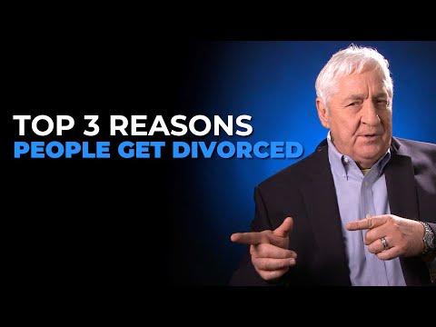 Top 3 Reasons People Get Divorced
