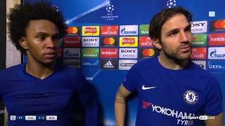 WIllian: Chelsea should have beaten Barcelona - Full interview