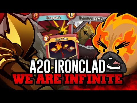 We're (Almost) Infinite! | Ascension 20 Ironclad Run | Slay the Spire