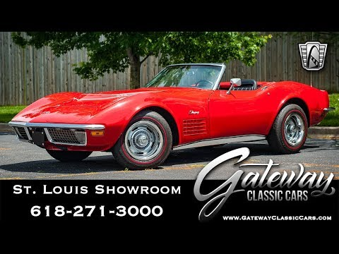 Video of Classic '71 Chevrolet Corvette located in Illinois Offered by Gateway Classic Cars - St. Louis - QB9M