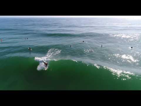 Drone shots of Kawana surf