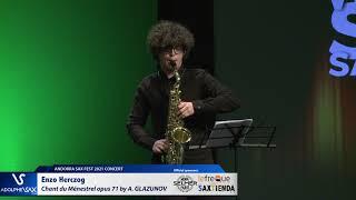 Enzo Herczog plays Chant du Ménestrel opus 71 by Alexander GLAZUNOV