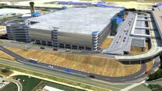 Charlotte Douglas International Airport - 3d Animation