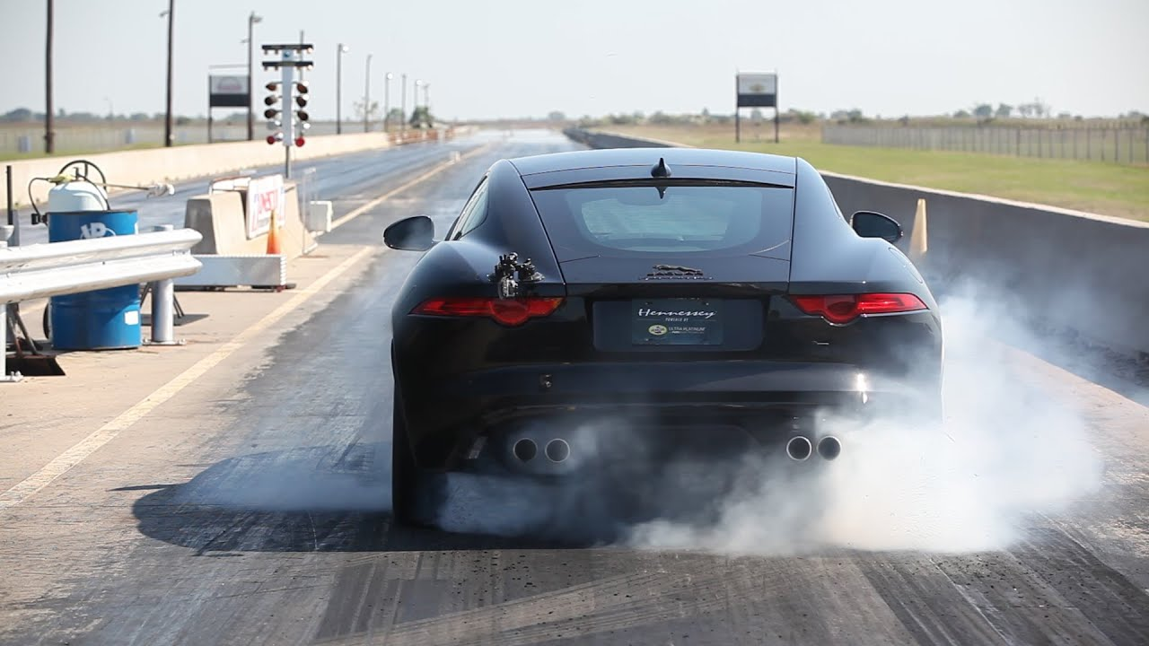 This Tuned Jaguar F-Type R Coupe Sounds Amazing