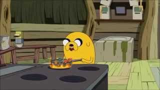 Adventure Time - Empire State of Bacon Pancakes