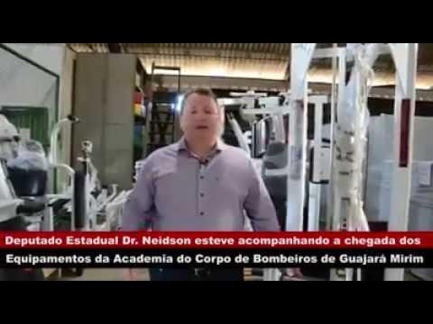 VÍDEO: DR. NEIDSON ACOMPANHA A CHEGADA DOS EQUIPAMENTOS DA ACADEMIA DO CORPO DE BOMBEIROS DE GUAJARÁ-MIRIM