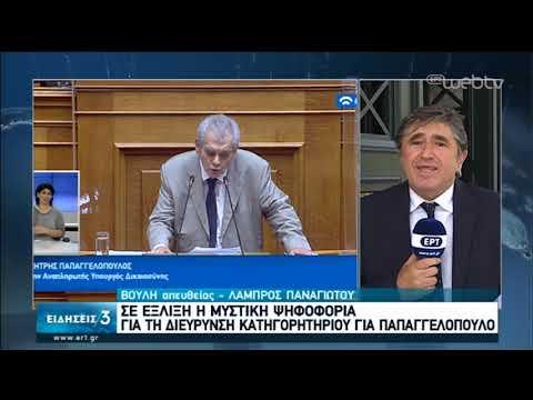Σε εξέλιξη η ψηφοφορία για την διεύρυνση κατηγορητηρίου για τον Δ. Παπαγγελόπουλο | 20/05/2020 | ΕΡΤ