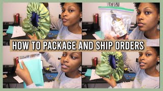 How To Package & Ship Orders With USPS