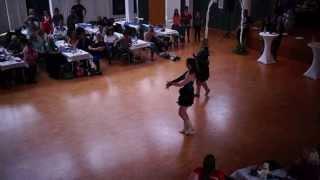 preview picture of video 'German World of Dance 2013 Clarissa Schneider-Wirsching Cha Cha Cha Intermediate Open Female'