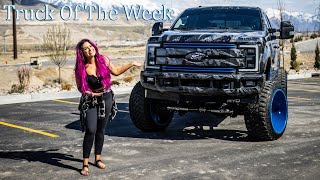 ECD Customs Lifted Ford On American Force Wheels