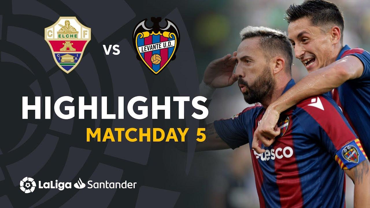 Resumen de Elche CF vs Levante UD (1-1)