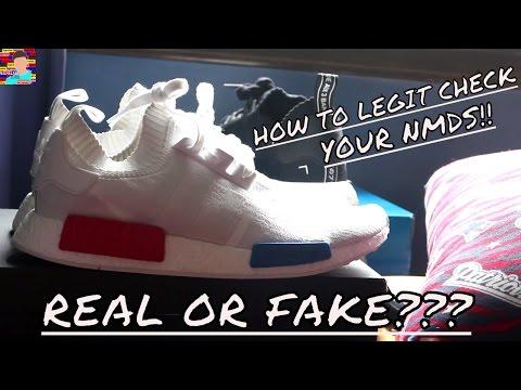 Adidas Nmd Real V Fake Comparison Nmd R1 Pk Primeknit Comparison Fake 77363b