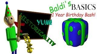 Baldi's Basics is 1 year old! NEW ENDING, SECRETS!!